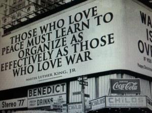 Organize peace